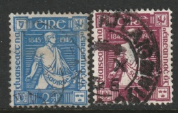 Ireland Sc 131-132 Complete Set Used - 1937-1949 Éire