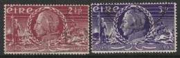 Ireland Sc 135-136 Complete Set Used - 1937-1949 Éire