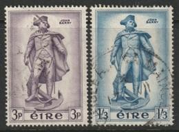 Ireland Sc 155-156 Complete Set Used - 1949-... Republic Of Ireland