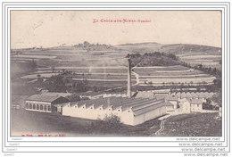 Cpa  Réf-JP-R410 (  Dép-88 La CROIX-AUX-MINES )  L' USINE De Peignage Et Filature De Bourre De Soie - France