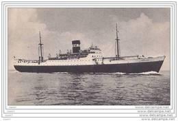 Cpa  Réf-JP-T284 (  Navigation Mixte Algérie-Tunisie   Le Paquebot  DJEBEL DIRA - Steamers