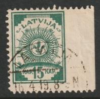 Latvia Sc 8 Used - Latvia