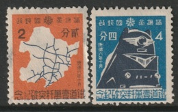Manchukuo Sc 130-131 Set MNG - 1932-45 Manchuria (Manchukuo)