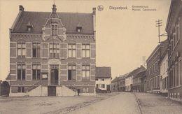 DIEPENBEEK - 1940 - Gemeentehuis Maison Communale - Militair 2e Wereldoorlog - Diepenbeek