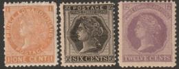 PEI Sc 11,15,16 MH (15 With Faults) - Prince Edward Island