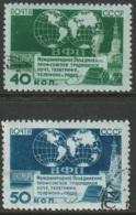 Russia Sc 1447-1448 Set CTO - 1923-1991 USSR