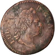 Monnaie, France, Louis XV, Sol à La Vieille Tête, Sol, 1774, Limoges, TB+ - 987-1789 Royal