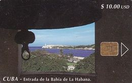 CUBA - Entrada De La Bahia De La Habana, Tirage 20000, Used - Cuba