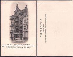 Anvers - Anvers Au XXe Siècle - Maison Flamande - Circa 1915 - Non Circulee - Cygnus - Belgium