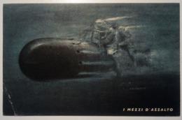 Militari -Regio Esercito,WWII -Mezzi D'assalto (X MAS?) 1943 Viaggiata Ministero Marina, XVI° Reparto -Posta Militare PM - Militares