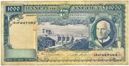 Angola - 1000 Escudos - 10.06.1970 - Pick 98 - Série I8 NP - Américo Tomás - PORTUGAL 1 000 - Angola