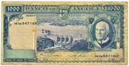 Angola - 1000 Escudos - 10.06.1970 - Pick 98 - Série N6 Va - Américo Tomás - PORTUGAL 1 000 - Angola