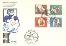 BRD 538/41 FDC Sonderstempel - FDC: Briefe
