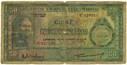Guiné-Bissau - 50 Escudos - 30.06.1964 - P 40 - Sign Varieties - João Teixeira Pinto - PORTUGAL - Guinea-Bissau