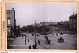 BERLIN - UNTER DEN LINDEN IV -  Phototyp. Inst. Rob. Prager (Schultz & Schlenner) - Old (before 1900)