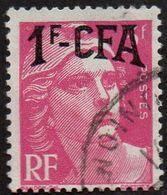 Réunion Obl. N° 289 - Marianne De Gandon Surch. 1/3 F Rose Lilas - Réunion (1852-1975)