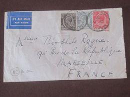 Kenya      LETTRE Par Avion Du 12  Juillet 1932 De Makuu  Pour Marseille - India (...-1947)