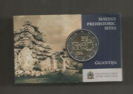 Monnaie, MALTE , MALTA'S PREHISTORIC SITES , GGANTIJA , 2016 ,2 Euro , Frais Fr  1.95 E - Malta