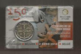Monnaie, BELGIQUE, BELGIEN, BELGIË ,150 Ans De La CROIX ROUGE ,2 Euro , ,frais Fr  1.95 E - Bélgica