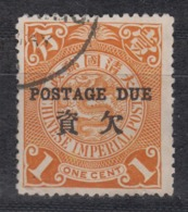 IMPERIAL CHINA 1904 - Postage Due - Usati
