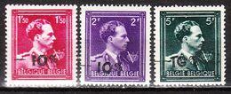 724N/P**  Leopold III Col Ouvert Surchargé -10% - OUDENAARDE - Série Complète - MNH** - LOOK!!!! - 1946 -10%