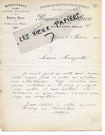32 - Gers - MIRANDE - Facture MATHIEU - Menuiserie, Fabrique De Meubles - 1909 - REF 155A - France