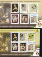 2019 - VATICANO - S24A - SET OF 7 STAMPS ** - Unused Stamps
