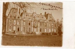 Goyencourt Platzkonzert - Somme Frankreich  - Deutsche Soldaten .  Guerre 14/18 -   WWI Carte Photo  Allemande - Oorlog 1914-18