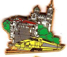 Pin's TGV Marseille Zamac Ballard - TGV