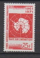 1971.TAAF -N°39** TRAITE DE L'ANTARCTIQUE - Terres Australes Et Antarctiques Françaises (TAAF)