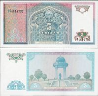 Uzbekistan 1994 - 5 Sum - Pick 75 UNC - Uzbekistan