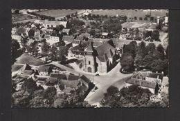 CPSM Pf. 18  . DUN-sur-AURON . Vue Aér. L'église . (Opérateur ROUSSEL) . - Dun-sur-Auron