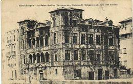 Cote Basque St Jean De Luz ( Janoenea) Maison De L' Infante Dans Son état Ancien RV - Saint Jean De Luz