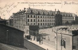 Limoges - Caserne De La Visitation (78e Régiment D'Infanterie) Transformé En Hôpital Militaire - Carte M.T.I.L. N° 137 - Caserme