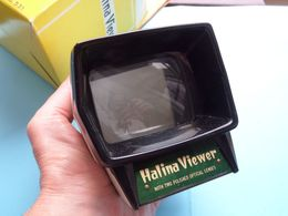 HALINA VIEWER With Fine Polished Optical Lens ( N° 531 ) In Original Box >>> See Scans ! ! - Dias
