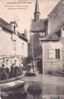 49 - Maine Et Loire -  BEHUARD - Sortie De Messe Pendant Les Inondations - Autres Communes