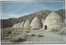 Charcoal Kilns High In The Panamint Mountains - Death Valley National Park - (CA - USA) - Death Valley