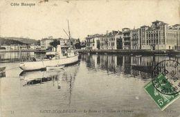 SAINT JEAN DE LUZ  Le Bassin Et La Maison De L'Infante  RV - Saint Jean De Luz