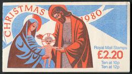 SG FX3 - 1980 - £2.20 Booklet - Christmas MNH - Markenheftchen