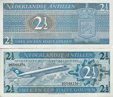 Netherlands Antilles 1970 - 2 1/2 Gulden - Pick 21 UNC - Nederlandse Antillen (...-1986)