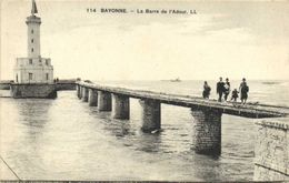 BAYONNE  La Barre De L'Adour Phare    RV - Bayonne