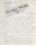 33 - Gironde - LEOGNAN - Facture DUCASSE - Menuiserie, Scierie - 1907 - REF 155A - France