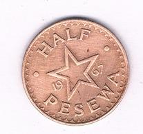 HALF PESEWA 1967 GHANA /4688/ - Ghana