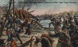 """FELDPOST """"Erbitterte Kämpfe Beim Überschreiten Des Yser-Kanals""""  1914/15 WWI WWICOLLECTION - Ieper"""