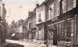 CPSM - 45 - CHATILLON-COLIGNY - Rue Jean Jaurès MAGASIN C CRAPEAU Articles De Chasse Et Commerces Divers  - CARTE RARE - Chatillon Coligny