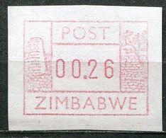Simbabwe Zimbabwe Mi# ATM 1 Postfrisch/MNH - Great Ruins - Zimbabwe (1980-...)
