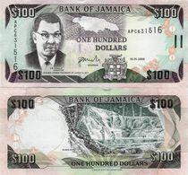 Jamaica 2009 - 100 Dollars - Pick 84d UNC - Jamaica