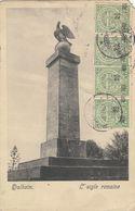 FELDPOST - Luxembourg / Dalheim, L'Aigle Romaine - 1919 (damaged - Verletzt) - Remich