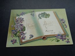 Carte ( 1232 )  Gaufrée  Reliëf   Fantaisie  Fantasie - Other