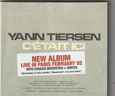 CD YANN TIERSEN  2 CD Sous Emboitage   C'était Ici LIVE IN PARIS - Musiques Du Monde